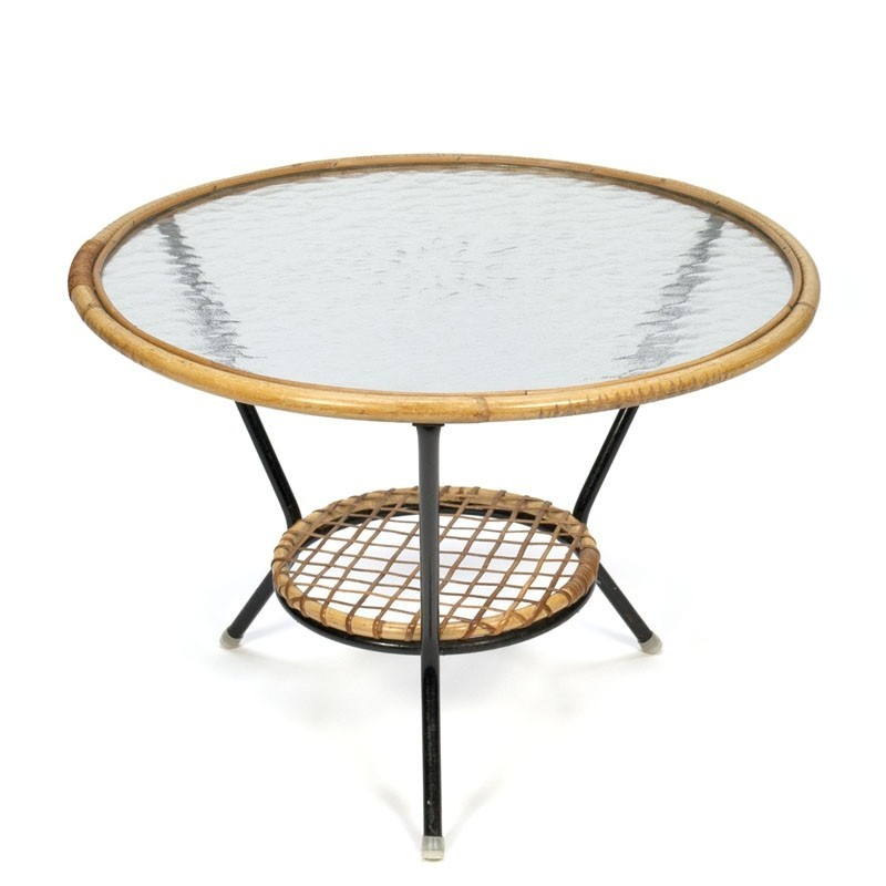 Vintage fifties coffee table Rohe Noordwolde
