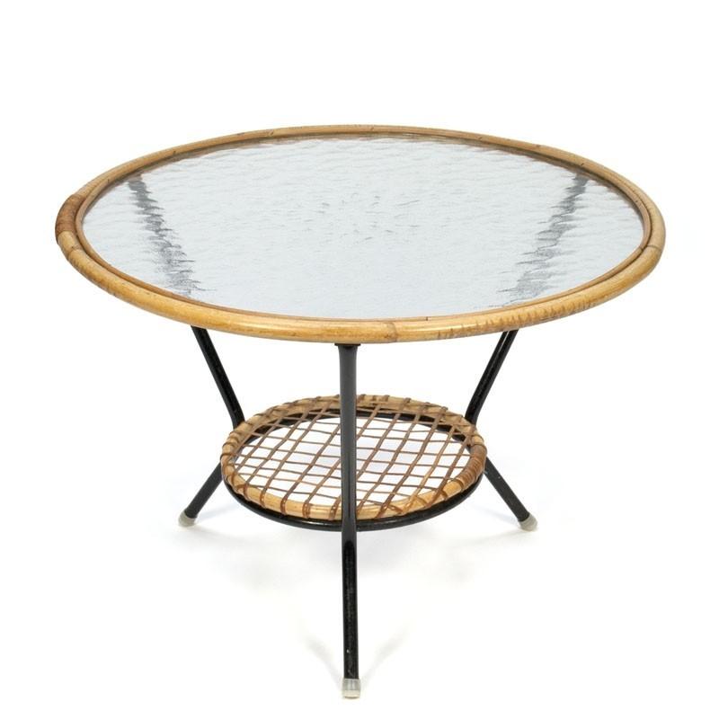 Vintage jaren 50 salontafel van Rohe Noordwolde