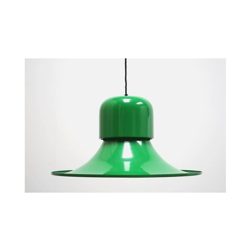 Grote Stilnovo lamp groen