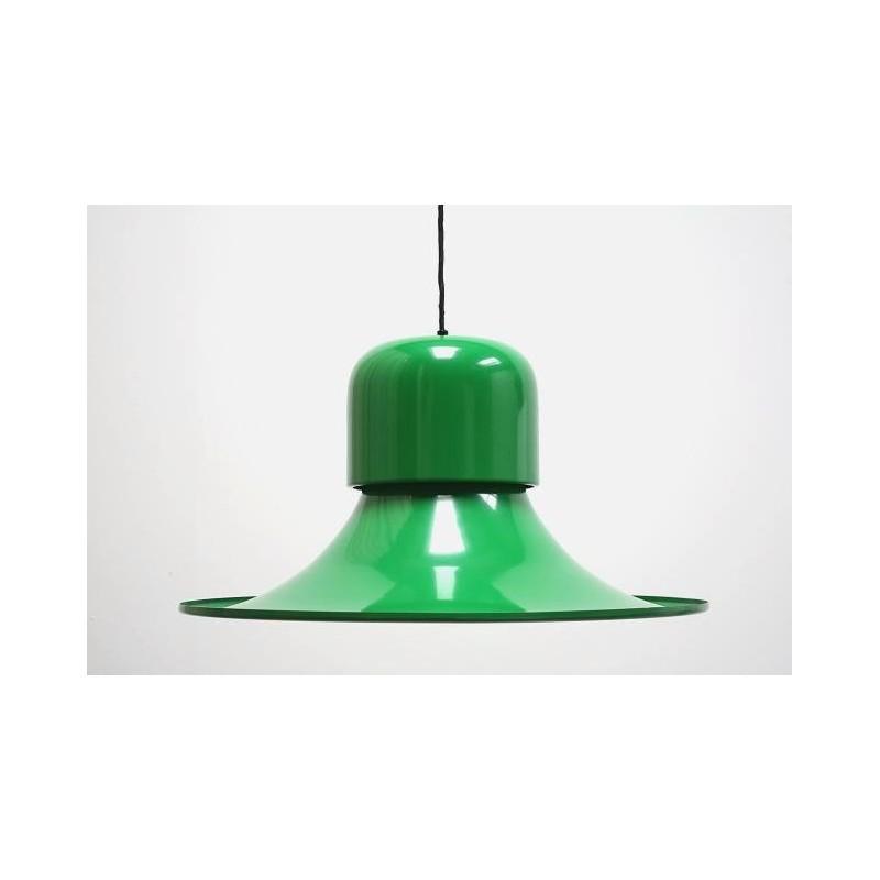Large Stilnovo lamp green