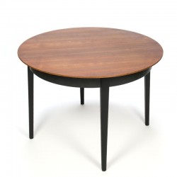 Vintage round Pastoe dining table design Cees Braakman