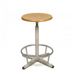 Swivel stool vintage industrial design