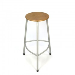 Vintage industrial stool bar height