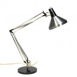 Vintage Architecten bureaulamp merk Hala