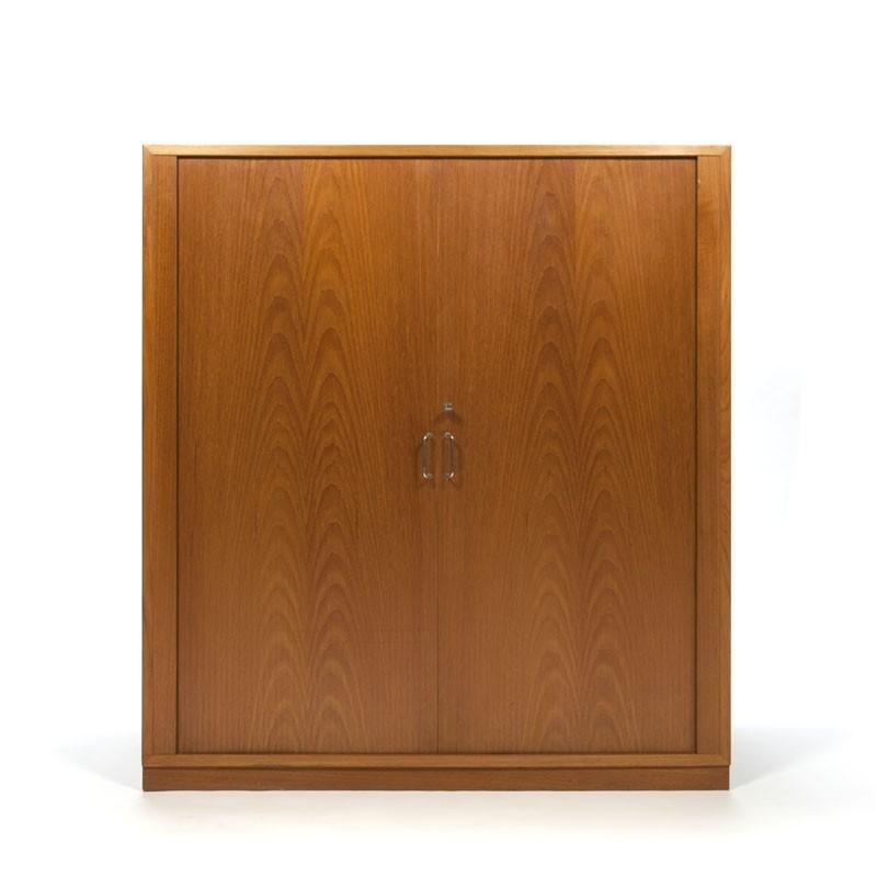 Danish vintage filing cabinet in teak