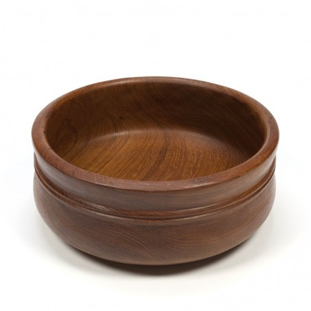 Large vintage bowl with double edge