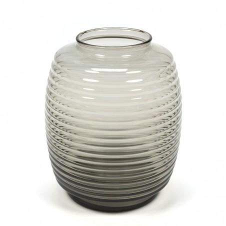 Vintage glass vase design Leerdam A.D. Copier