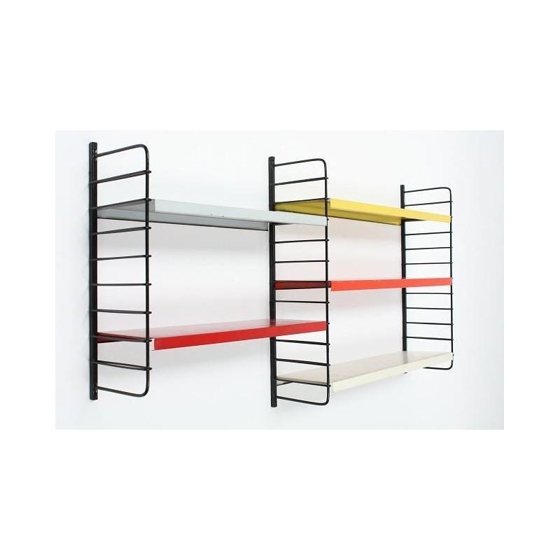 Metal wall rack nr. 1
