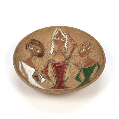 Vintage Italian bowl design Fratelli Fanciullacci