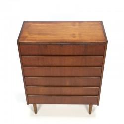 Danish teak vintage dresser