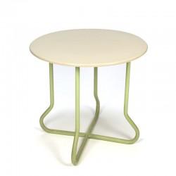 Vintage rond tafeltje jaren vijftig