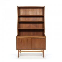 Danish vintage Nexo bookcase in teak