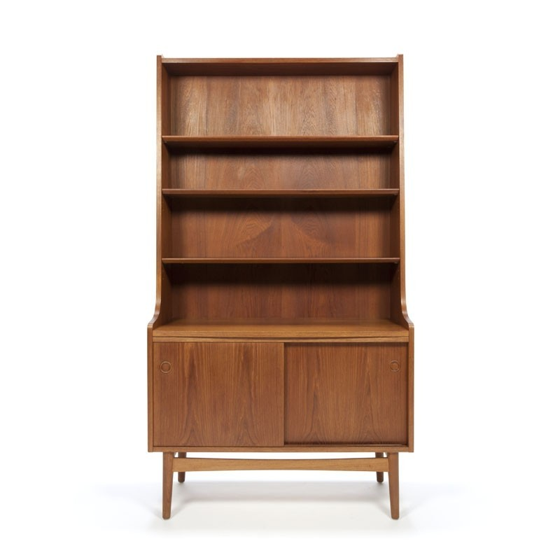 Danish vintage Nexo bookcase in teak