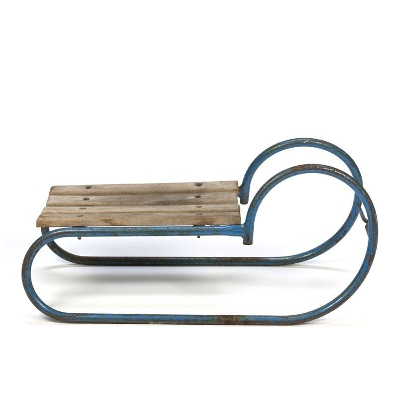 Vintage sled small model