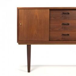 Vintage klein model Deens dressoir