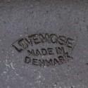 Vintage Deense schaal van aardewerk