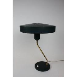 Vintage Philips tafellamp groen