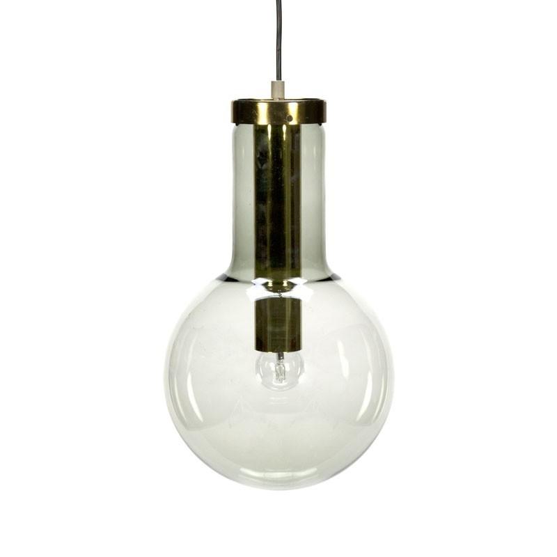 Vintage hanglamp Gloeilamp model van Raak Amsterdam