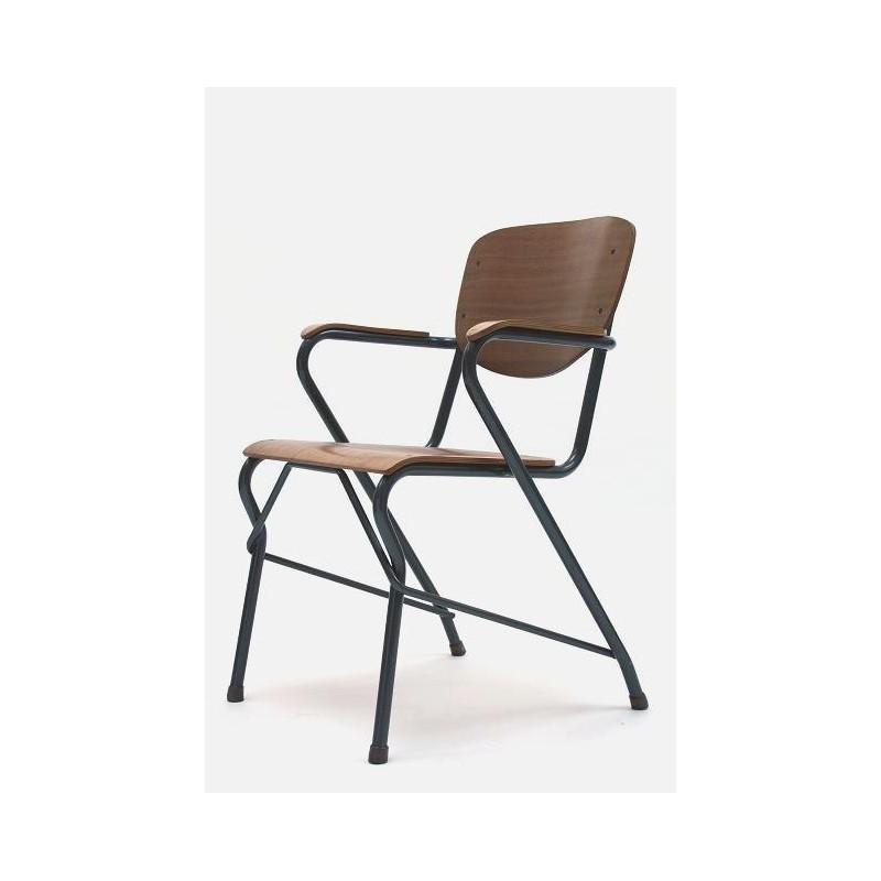 Plywood desk chair