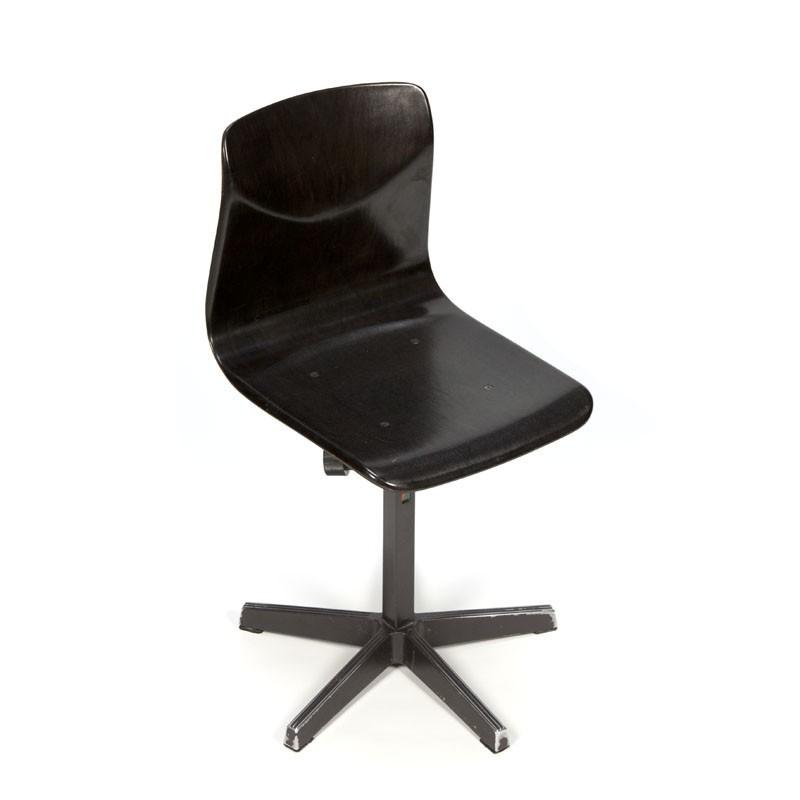 Vintage school chair adjustable