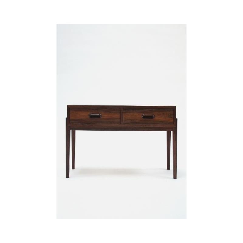 Kleine palissander houten ladenkast