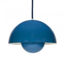 Vintage Flower Pot blauw design Verner Panton