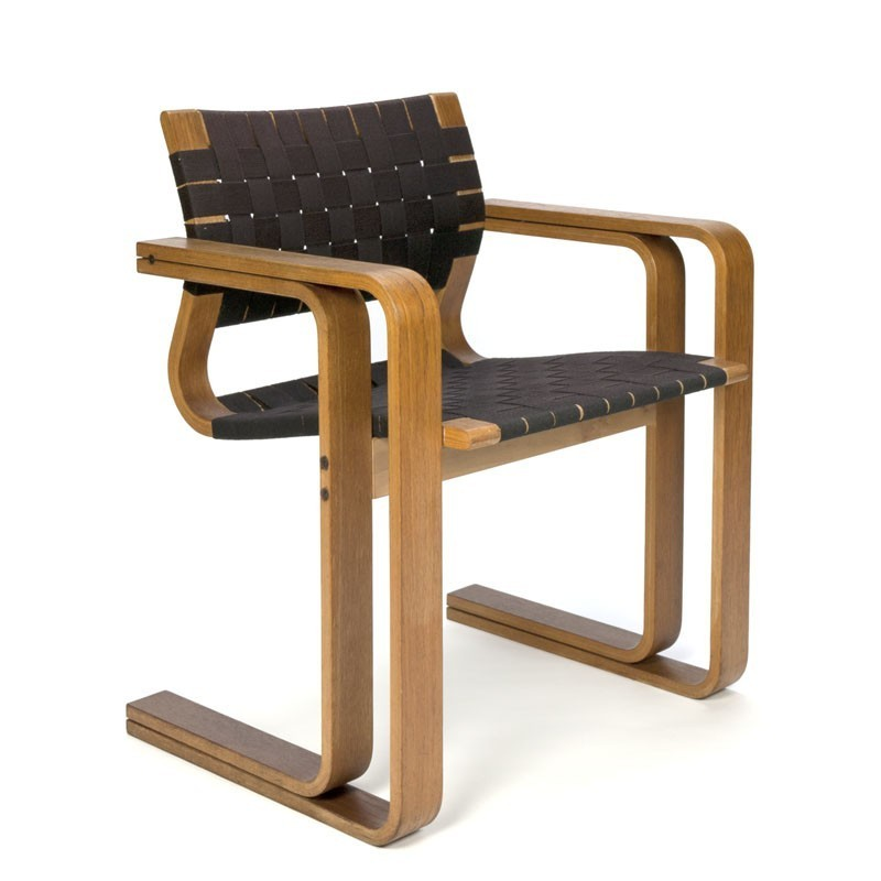 Deense vintage stoel ontwerp Magnus Olesen