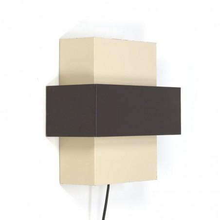 Vintage wandlamp ontwerp J.J.M. Hoogervorst voor Anvia