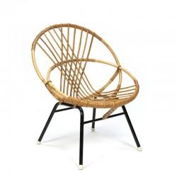 Klein model vintage rotan stoel