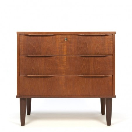 Vintage small model drawer cabinet organic design