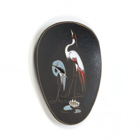 Vintage wall plate pottery