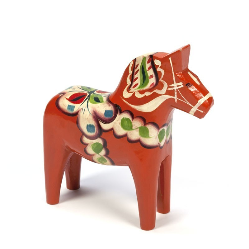 Vintage Swedish Dala horse design Nils Olsson
