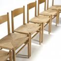 Vintage set of six chairs CH 36 design Hans Wegner