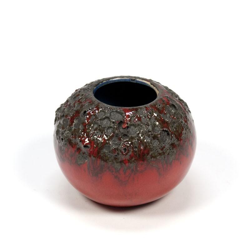 Vintage miniature vase of pottery