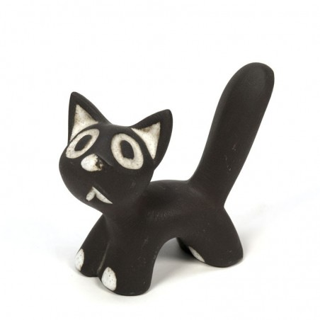 Vintage Ravelli sculpture of a cat