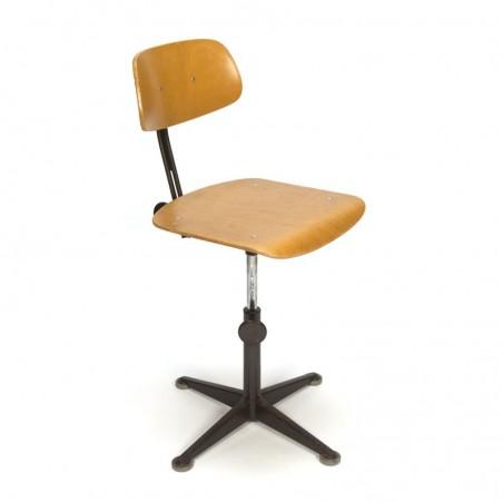 Vintage architect chair design Friso Kramer