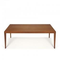 Vintage salontafel ontwerp Severin Hansen voor Haslev
