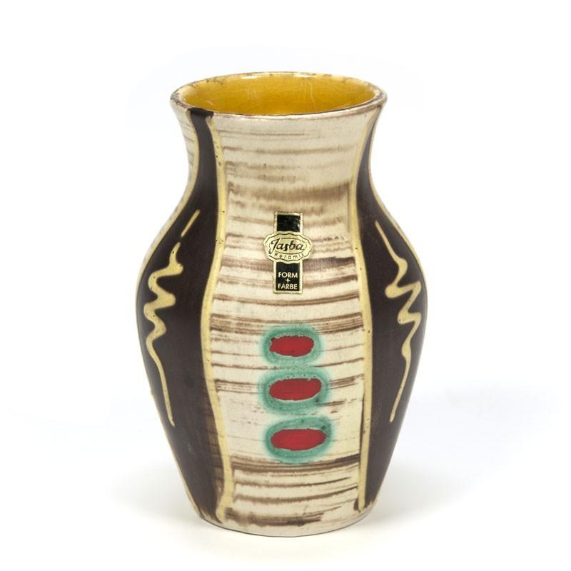 Vintage small vase brand Jasba