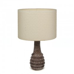 Vintage pottery design table lamp