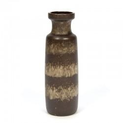 Brown vintage West Germany vase