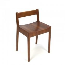 Deense vintage stoel voor kinderen in teak