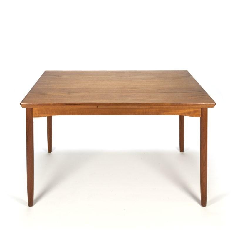 Vintage dining table in teak Gudme Mobelfabrik