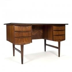 Deens palissander houten design bureau