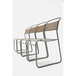 """Bruno Pollock """"Stacking chairs"""""""