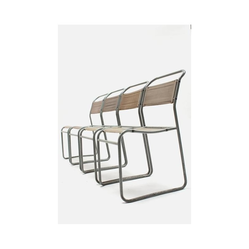Vintage Bruno Pollock Stacking chairs