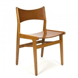 Danish vintage wooden dining chair