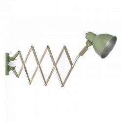 Vintage fifties scissors lamp