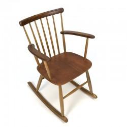 Danish vintage rocking chair by Billund