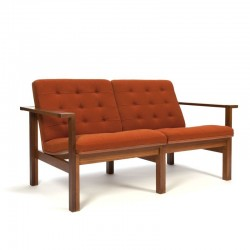 Vintage Danish design two-seater sofa Moduline