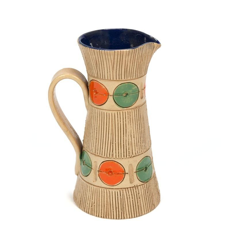Vintage ceramic jug design Fratelli Fanciullacci